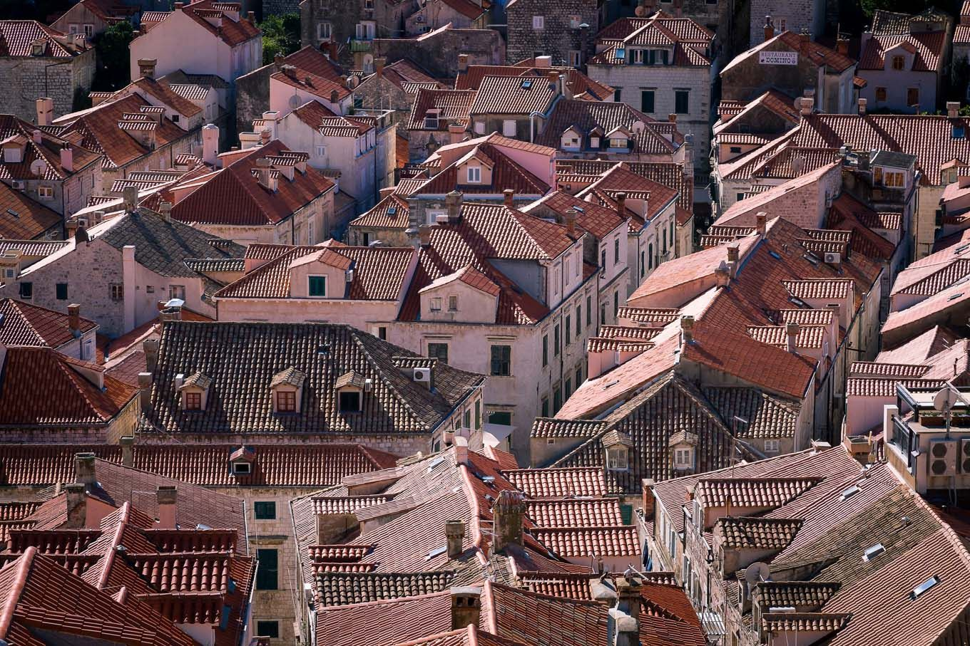 Dubrovnik Croatia late summer
